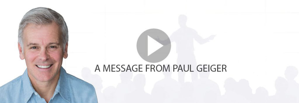 A message from Paul